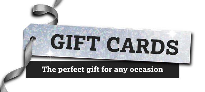 You want gift cards